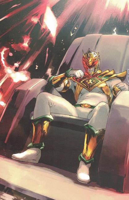 Power Rangers #12 1:10 Gerald Parel Virgin Variant Boom 2020