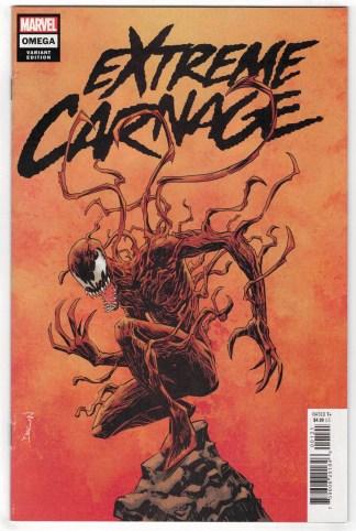 Extreme Carnage Omega #1 1:25 Declan Shalvey Variant Marvel 2021 VF/NM