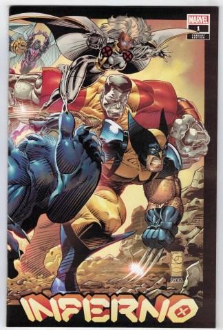 Inferno #1 1:50 Greg Capullo Variant Marvel X-Men 2021 VF/NM