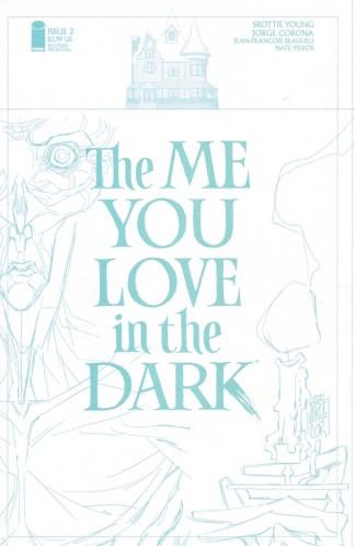 Me You Love in the Dark #2 2nd Print 1:20 Jorge Corona Variant Image 2021