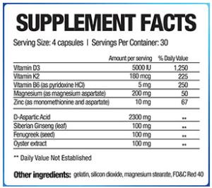 testofuel-ingredients