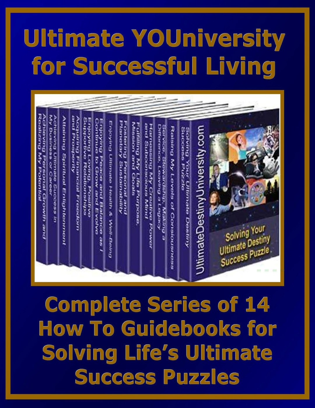 Complete Series of 14 Guidebooks Outlining Each of the 14 Categories