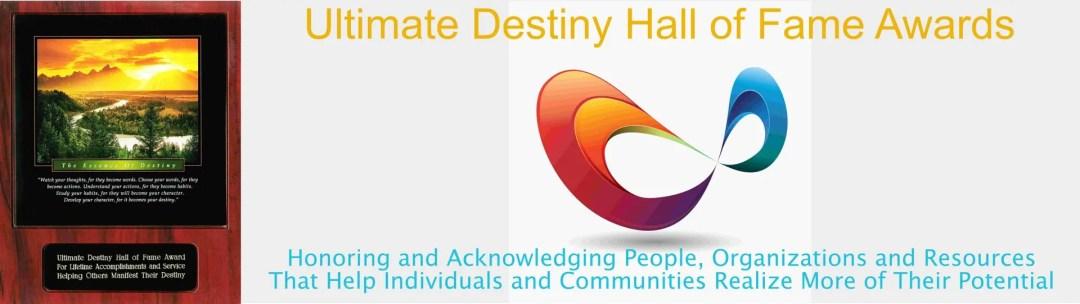Ultimate Destiny Hall of Fame Awards Banner