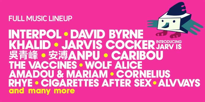 Clockenflap Festival 2018 line up poster