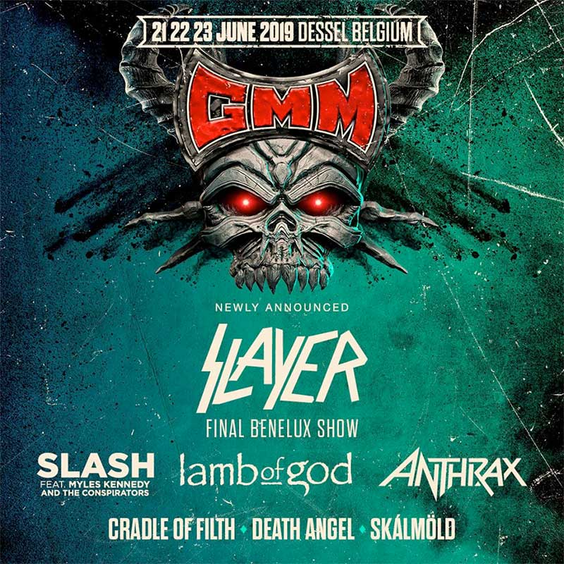Graspop Metal Meeting Slayer poster