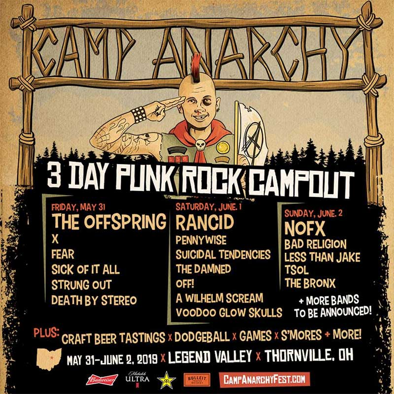 Camp Anarchy 2019 poster Ohio