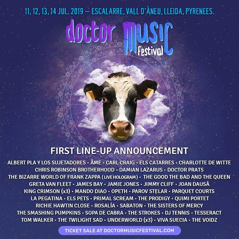 Doctor Music Festival 2019 poster