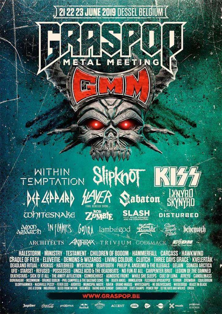 Graspop Metal Meeting poster 13 new acts
