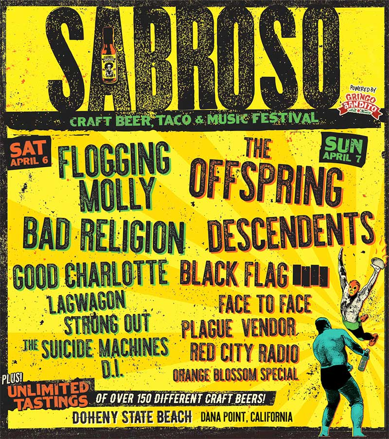 Sabroso Festival 2019 USA poster