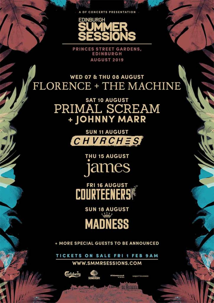 Edinburgh Summer Sessions 2019 poster