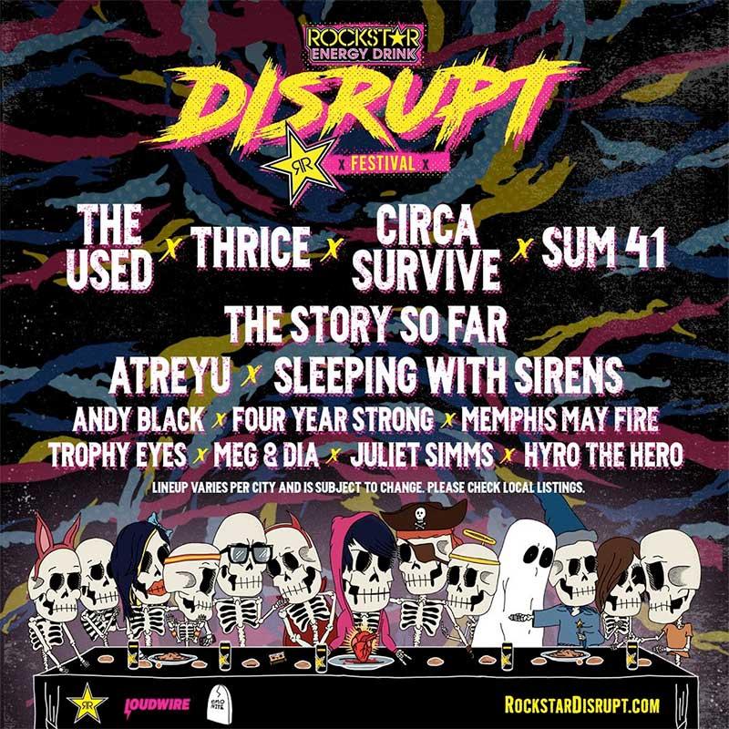 Rockstar Energy Disrupt Festival 2019 poster