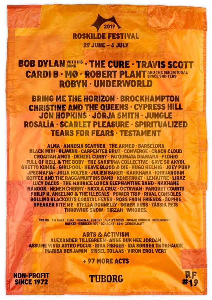 Roskilde Festival 2019 latest poster