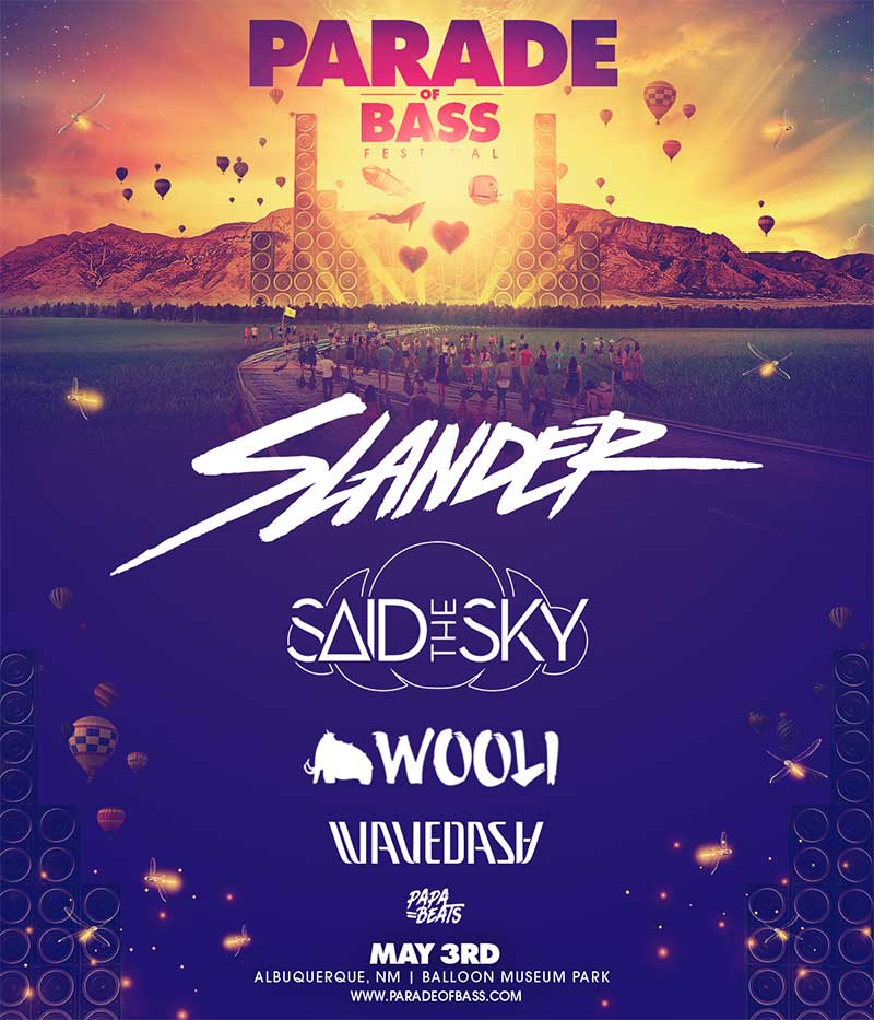 Parade of Bass New Mexico 2019 poster