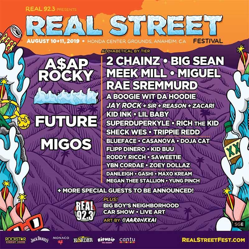 Reel Street Fest 2019 USA poster