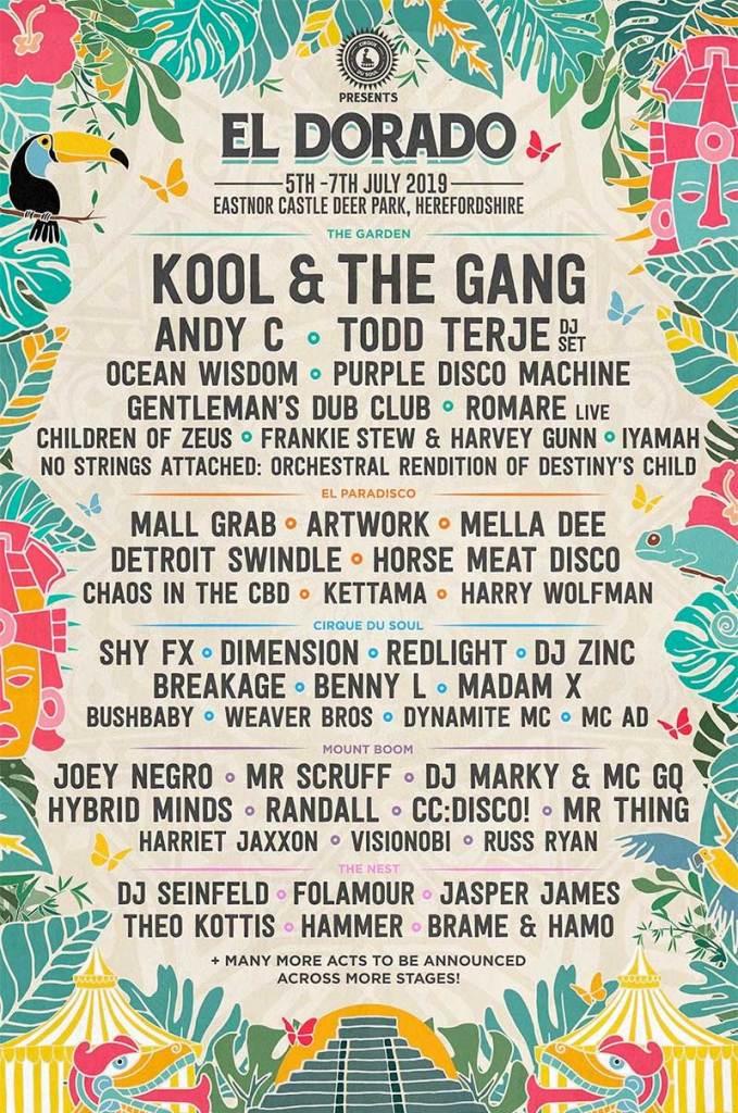 El Dorado Festival UK 2019 poster