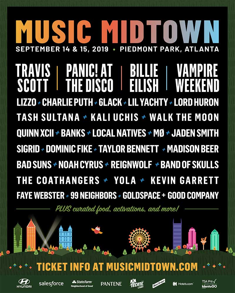 Music Midtown 2019 first poster