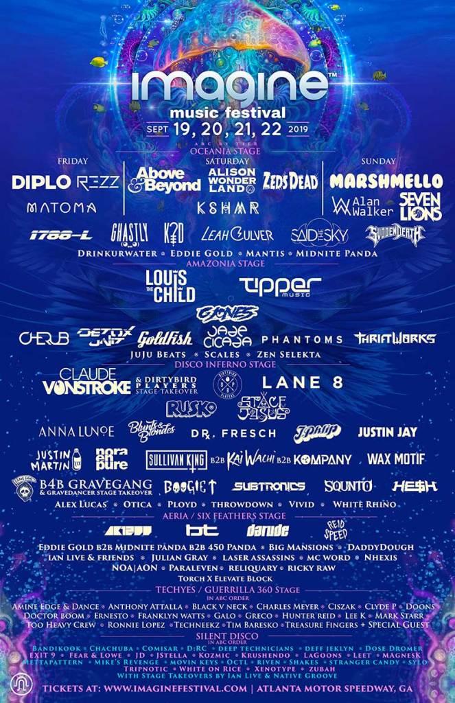 Imagine Festival 2019 poster final