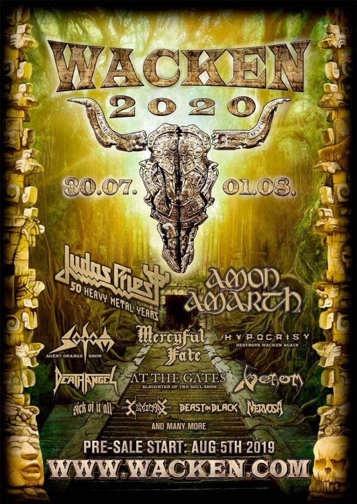 Wacken Open Air 2020 first bands poster