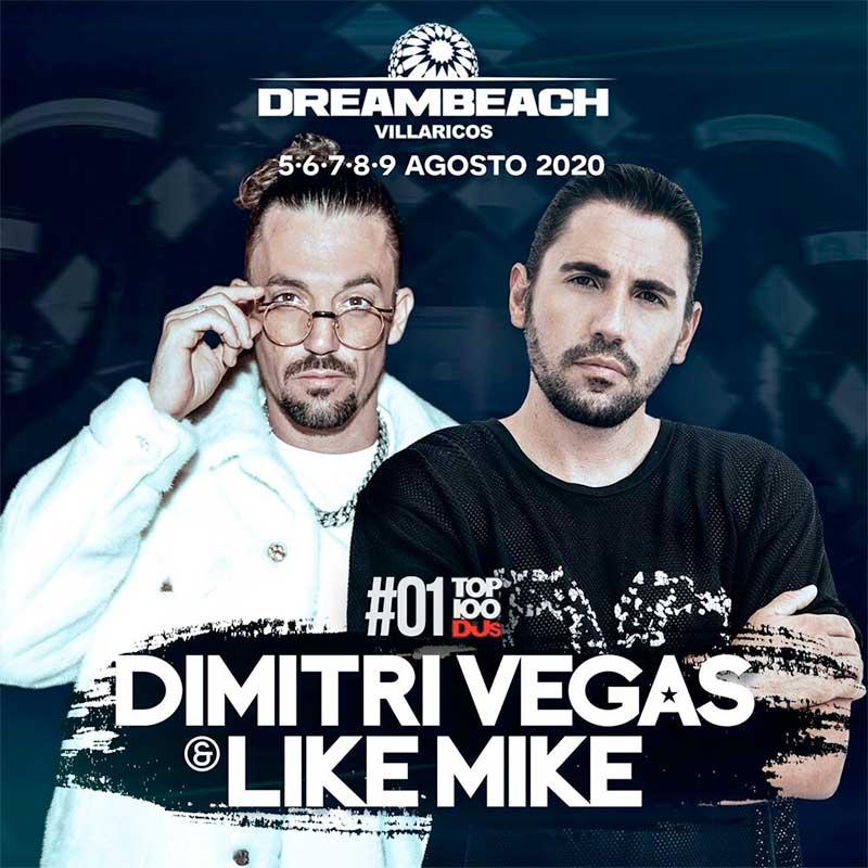 Dimitri Vegas and Like Mike will headline Dreambeach Festival 2020 in Spain