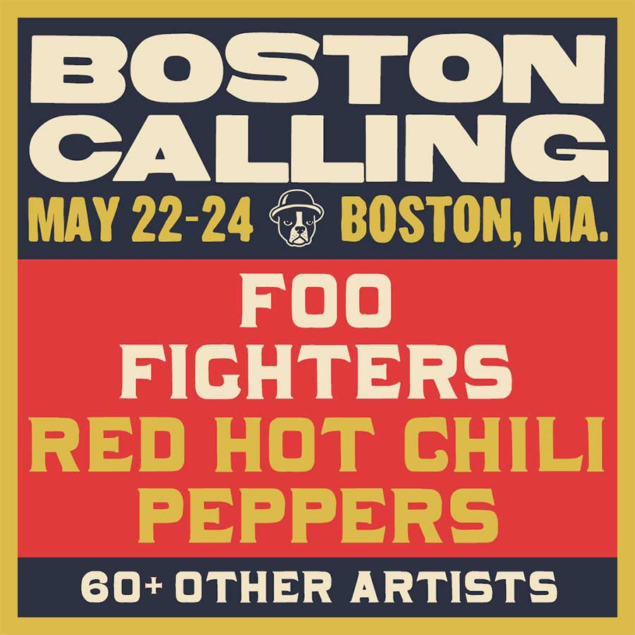 Boston Calling 2020 first poster