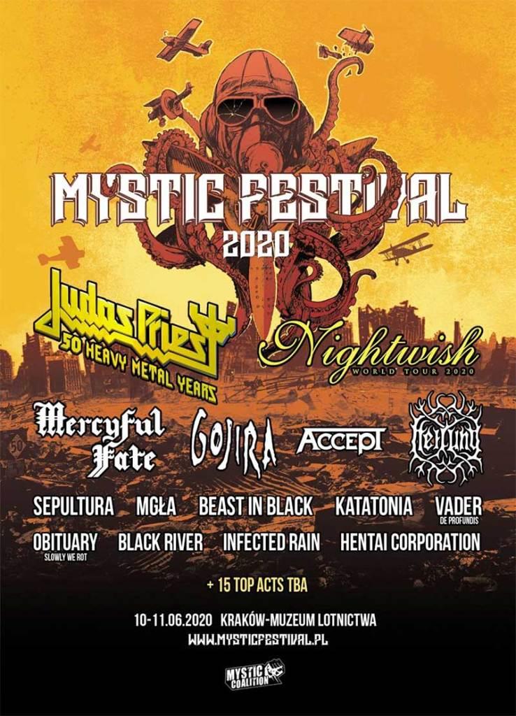 Mystic Festival 2020 Poland Sepultura poster