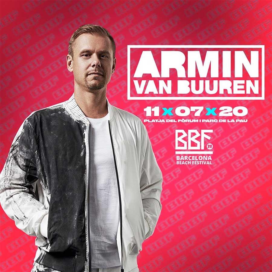 Armin Van Buuren plays Barcelona Beach Fest 2020