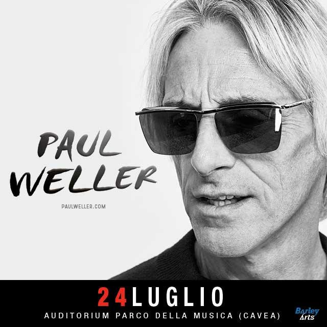 Paul Weller Rock in Roma 2020 poster