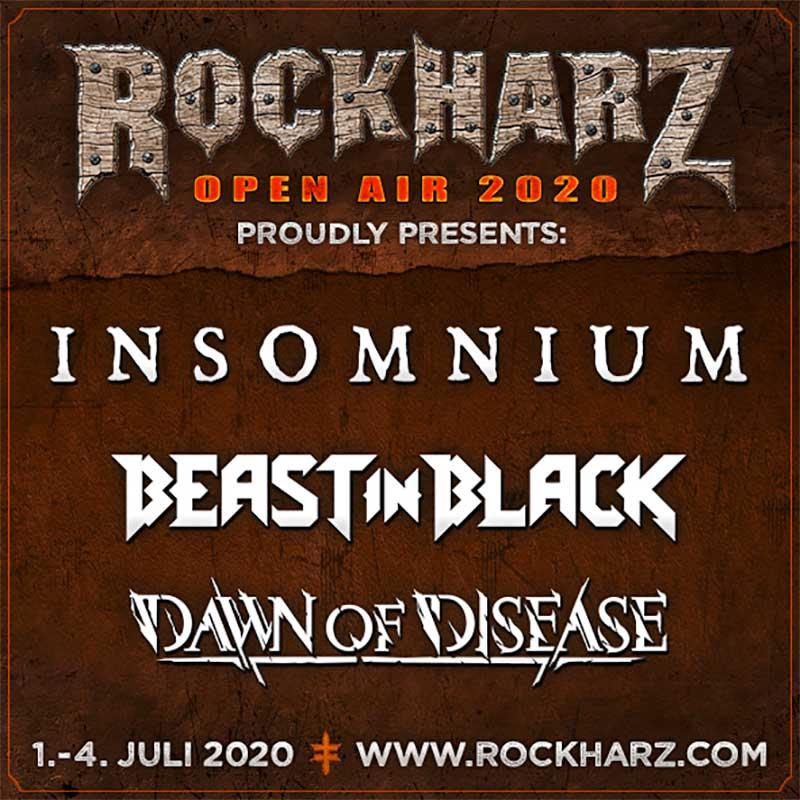 Rockharz 2020 Insomnium poster