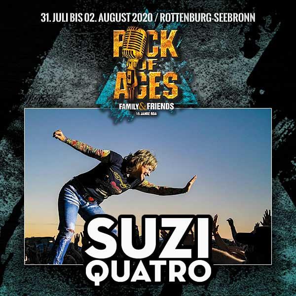 Suzi Quatro plays Rock Of Ages festival 2020