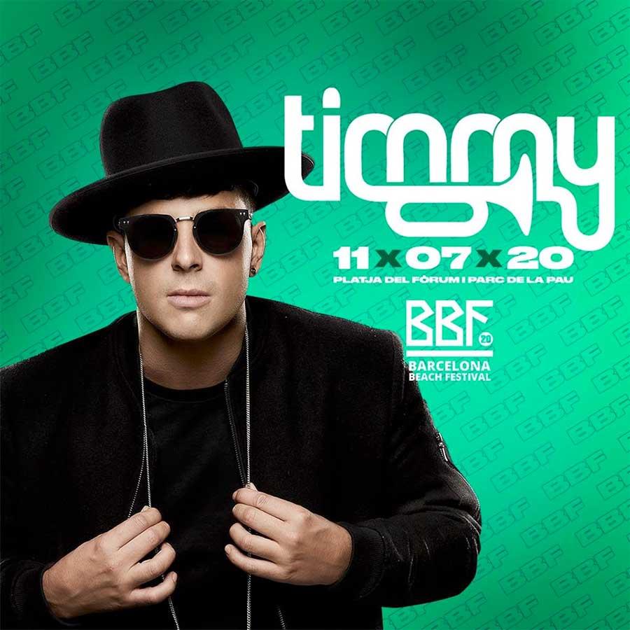 Timmy Trumpet plays Barcelona Beach Fest 2020