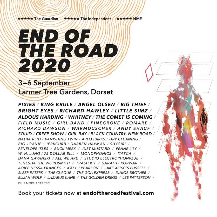 End of the Road Festival 2020 poster