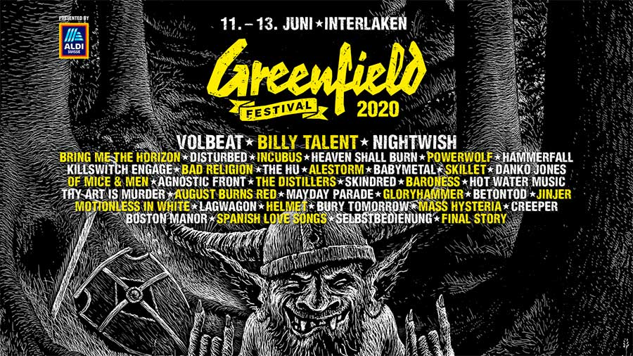Greenfield Festival 2020 new poster