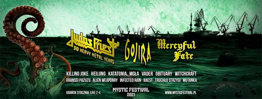 Mystic Festival Poland 2021 Gojira poster