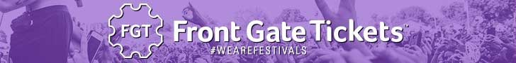 Front Gate Tickets Festivals banner