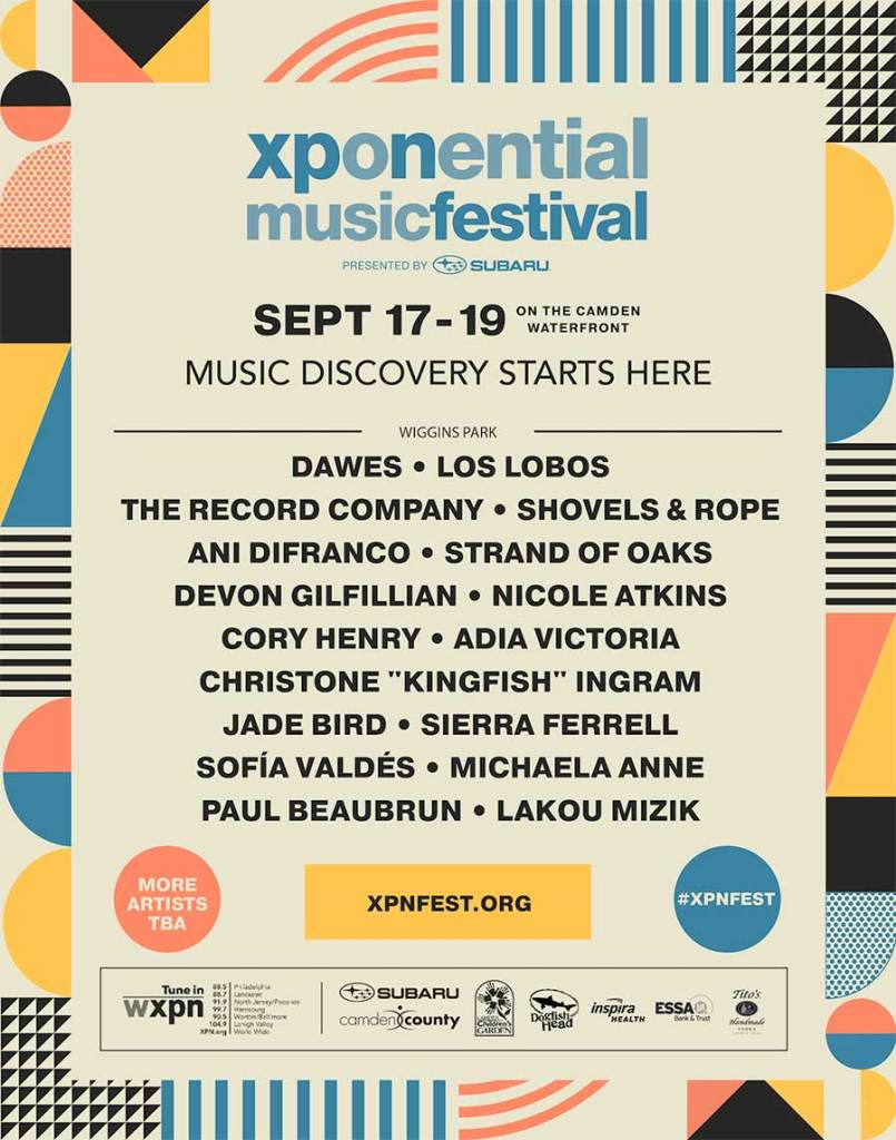 Xponential Festival 2021 poster