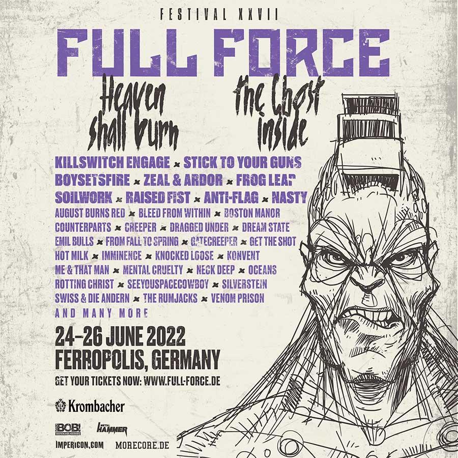 Full Force Festival 2022 poster september