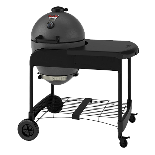 Char-Griller 6520 Akorn Kamado Kooker Charcoal Grill with Cart