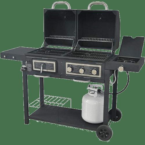 backyard BBQ Combo Grill