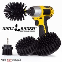 Ultra Stiff Drill Powered Cleaning Brushes