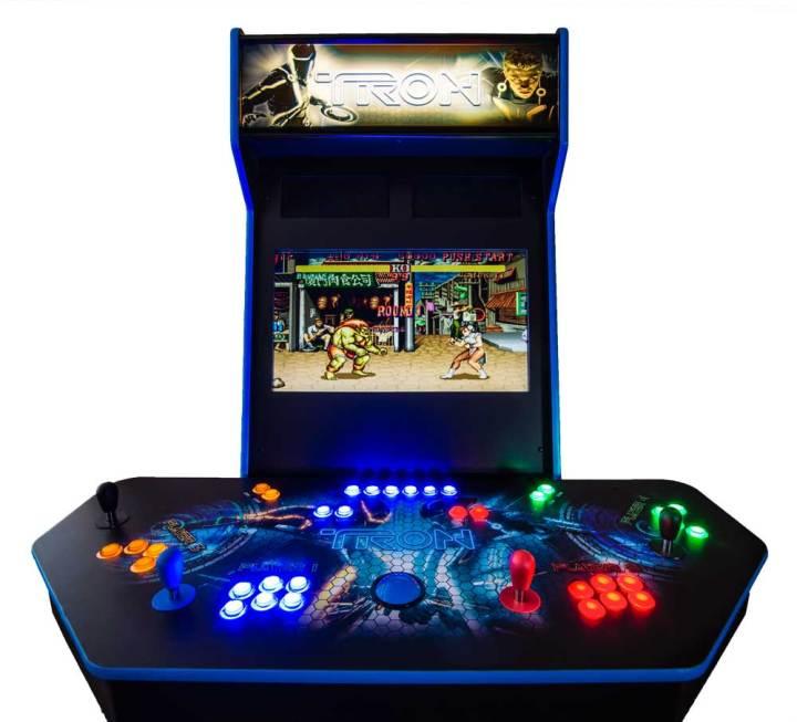 Custom Tron Mame Arcade Cabinet Ultimate Home