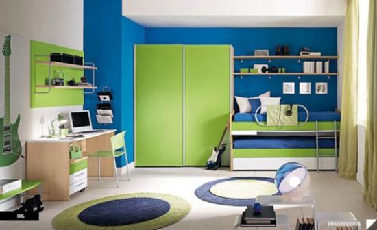 15 Blue And Green Boys Room Ideas