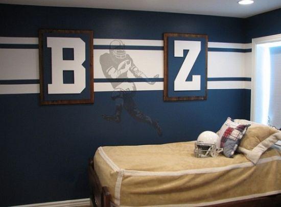 50 Sports Bedroom Ideas For Boys