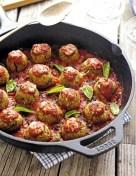 Eggplant Parm Meatballs
