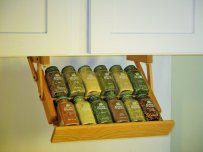 Under Cabinet Mini Spice Rack
