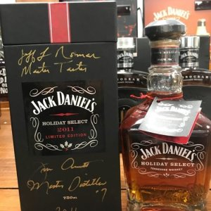jack daniels holiday select. Making its debut at the Distillery on December 3, 2011, Making its debut at the Distillery on December 3, 2011,