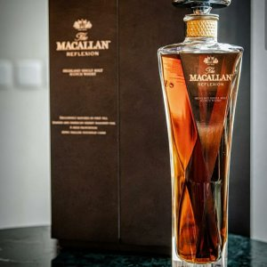 Macallan Single Malt Reflexion Scotch Whisky is a superb expression from the legendary distillery in Speyside, created by Master Whisky bob