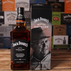 Jack Daniels Master Distiller Series1 1L. This special bottling is the first in a series that will celebrate the individuals at the helm