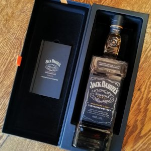 Jack Daniel's Sinatra Select. Master Distiller Jeff Arnett created Sinatra Century through the careful selection of specially crafted barrels.