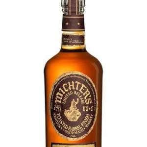 """Michter's Toasted Barrel Finish Sour Mash ... Upon its being named """"Whisky Of The Year"""" for 2019 by The Whisky Exchange 20% off"""