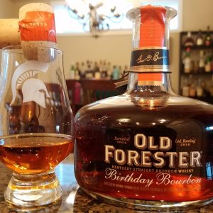 Old Forester Kentucky Straight Bourbon whisky 2016 Birthday. The 2016 Old Forester Birthday Bourbon is the 15th annual release in the series